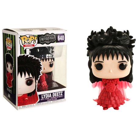 Beetlejuice Funko POP! Movies Lydia Deetz Vinyl Figure [Wedding] - Beetlejuice Head Shrunken