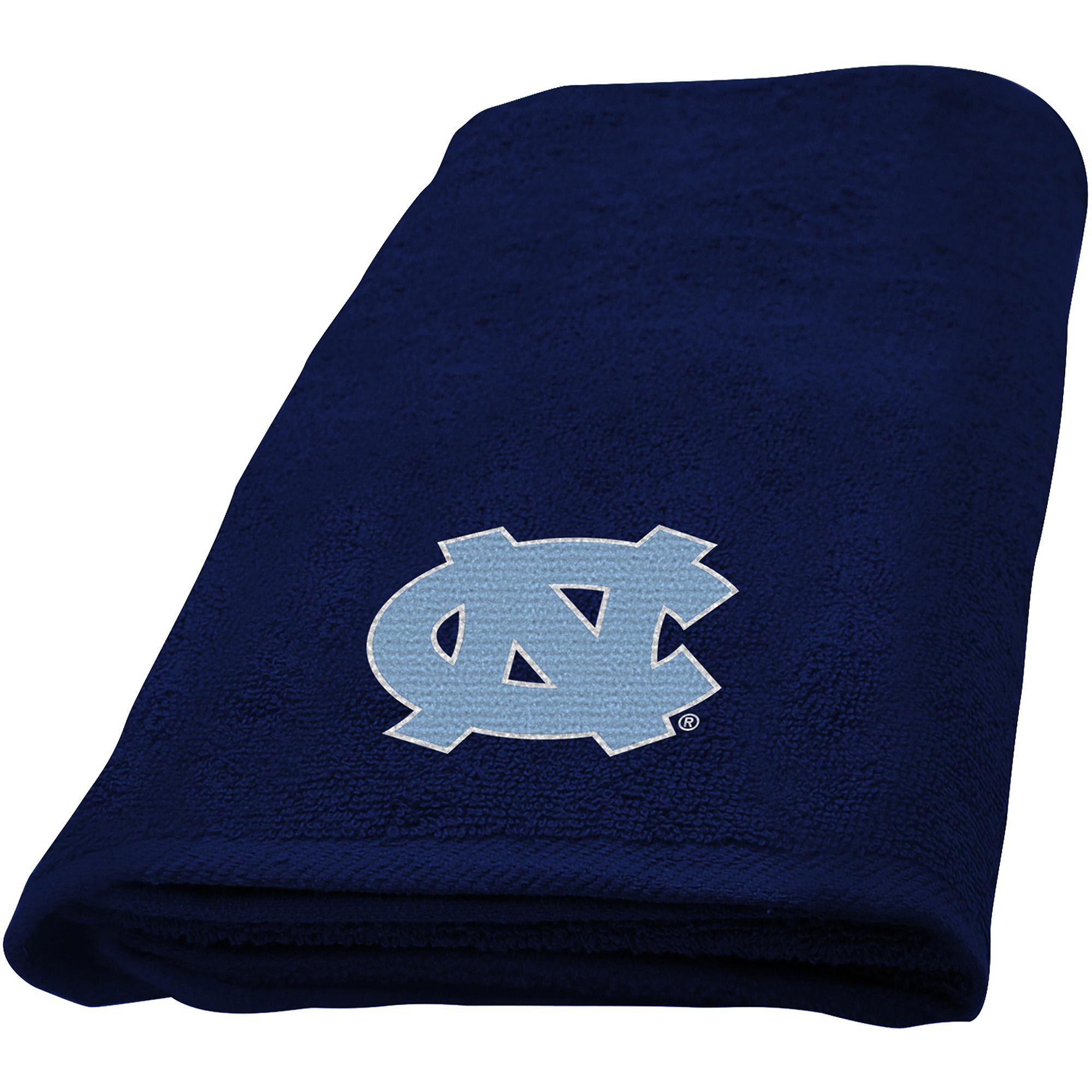 NCAA University of North Carolina Decorative Bath Collection - Fingertip Towel