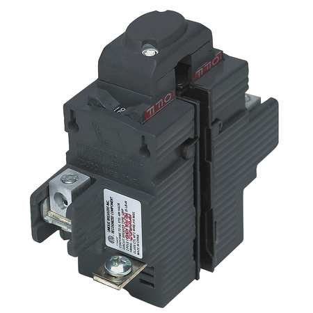 New Pushmatic® P250 Replacement. Two Pole 50 Amp Circuit Breaker Manufactured by Connecticut Electric 2 Pole Circuit Breaker