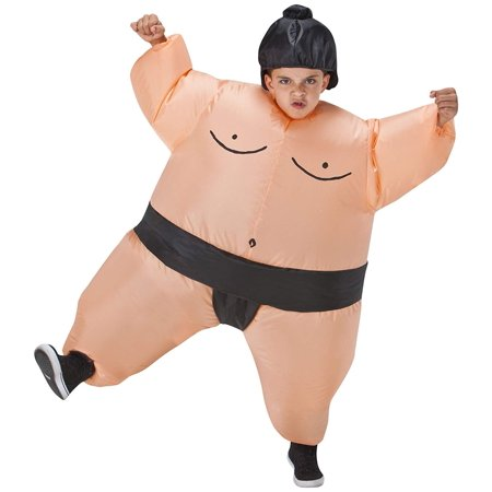 Costumes For All Occasions SS22006G Kids Inflatable Sumo Costume, Imported By Morris Costumes