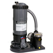 Blue Wave Hydro 120 Sq Ft Cartridge Filter System with 1.5 HP Pump for Above-Ground Pools
