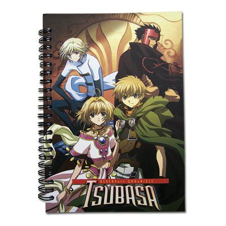 Tsubasa Reservoir Chronicle Characters Anime Notebook GE-6416 (Tsubasa Reservoir Chronicle Halloween)