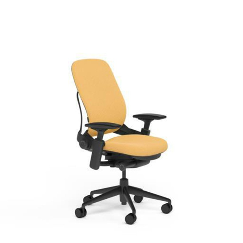 Steelcase Leap Desk Chair in Buzz2 Sunrise Fabric - Highl...