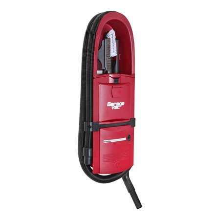 Garagevac Gf 120 R Red In Wall  Flush Mounted  Garage Vacuum