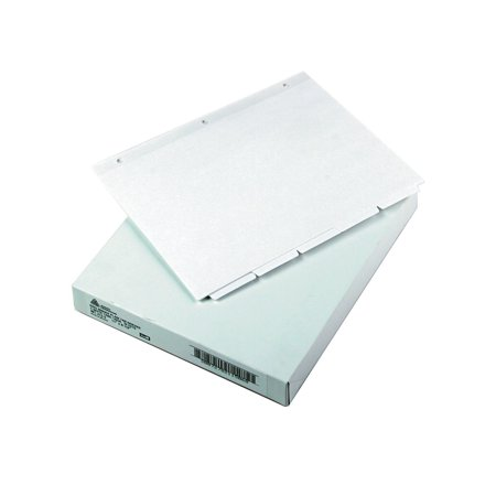 write on tab reference dividers 5 tab 11 x 8 1 2 white 36 sets