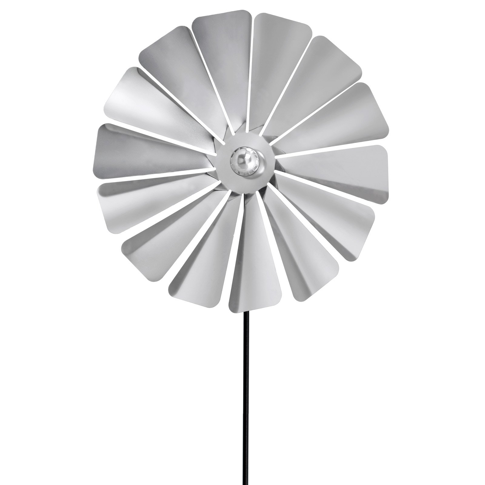 Viento Stainless Steel Windmill Style Pinwheel by Blomus - SKS USA Corp.