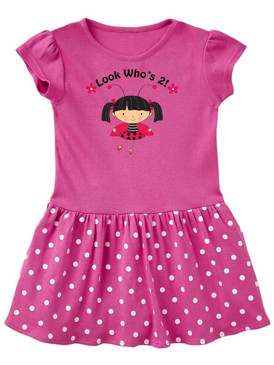 inktastic 2nd Birthday 2 Year Old Ladybug Toddler T-Shirt