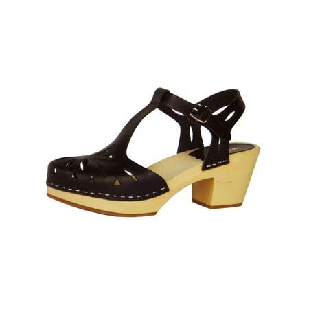 Swedish Hasbeens Women's Lacy Sandal - 8.5M -