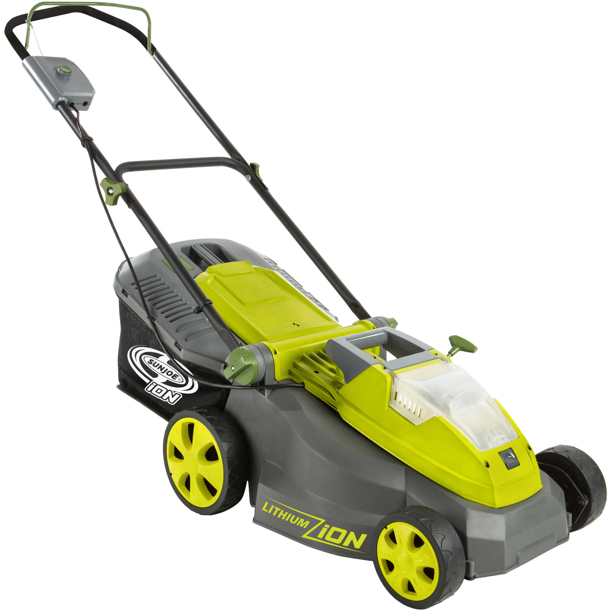 "Sun Joe iON 40V Cordless 16"" Lawn Mower (Core Tool - Battery/Charger Not Included) – ION16LM-CT"