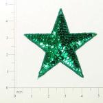 """Expo Int'l 4 1/2"""" Star Sequin Applique"""