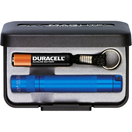 Maglite Solitaire Flashlight With Presentation Box  Blue