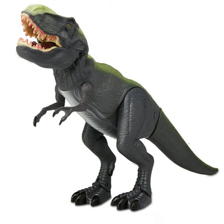 Force Green (Adventure Force Mighty Megasaur Battery-Operated Walking T-Rex,)
