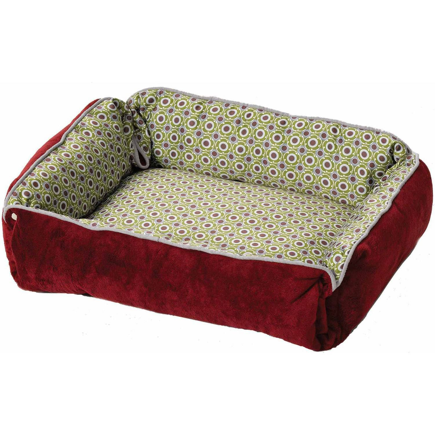 Midwest Quiet Time Boutique Reversible Snap-Bolster Bed