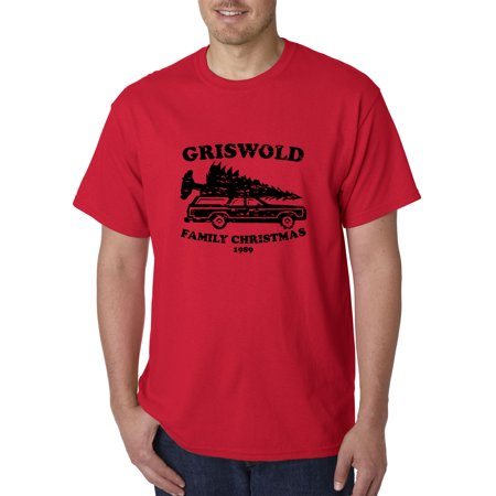New Way 1131 - Unisex T-Shirt Griswold Family Christmas 1989 Small Red ()