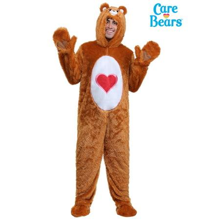 Adult Plus Size Classic Tenderheart Care Bears Costume - Plus Size Care Bear Costume
