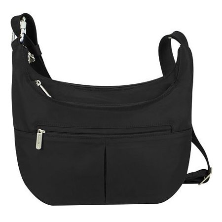 (Anti-Theft Classic Slouch Hobo - Black Anti-Theft Classic Slouch Hobo)