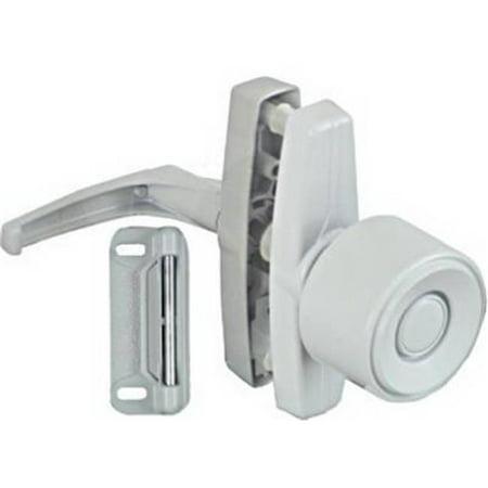 N212-993 White Knob Latch - image 1 of 1
