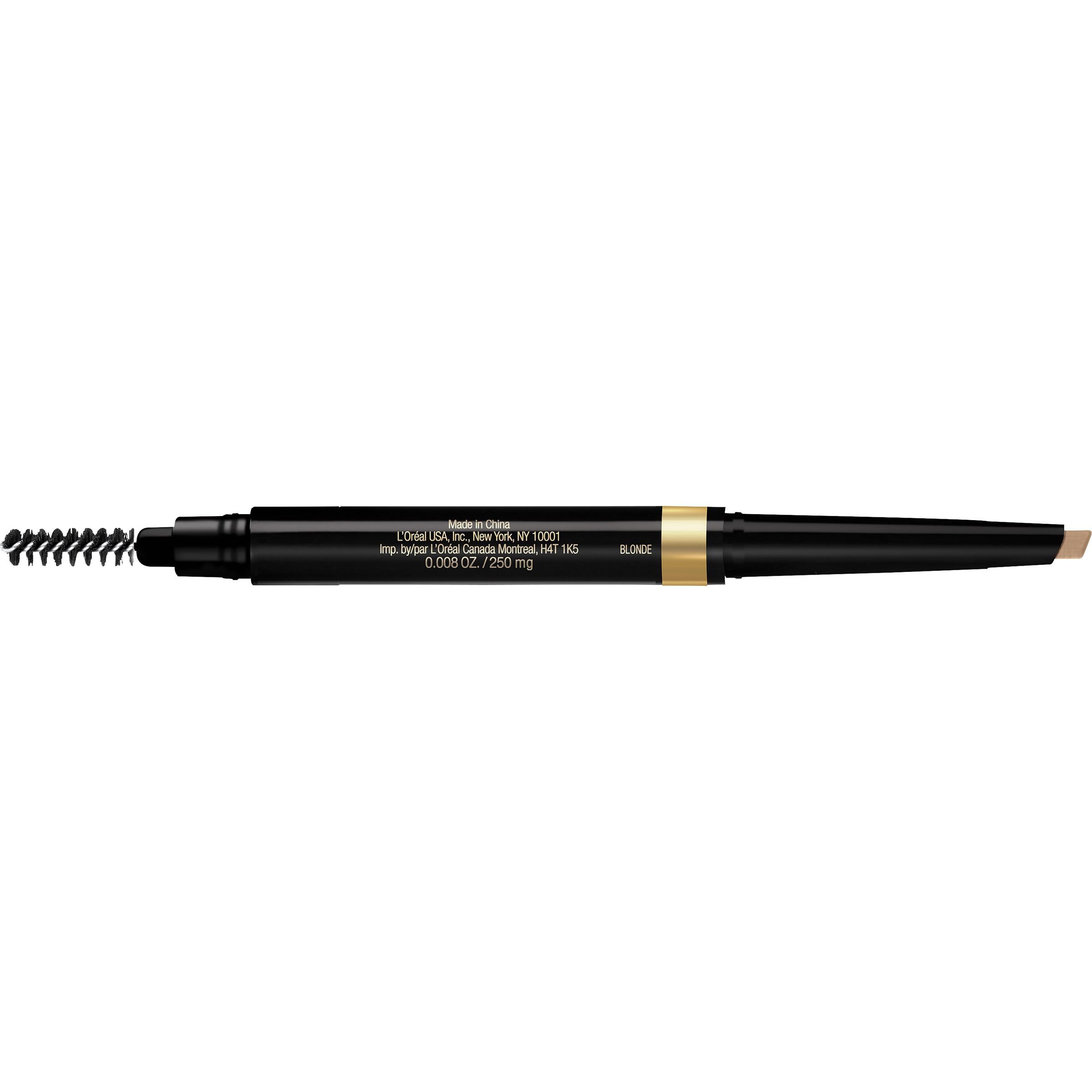 L'Oreal Paris Brow Stylist Shape and Fill Pencil, Blonde, 0.008 Oz