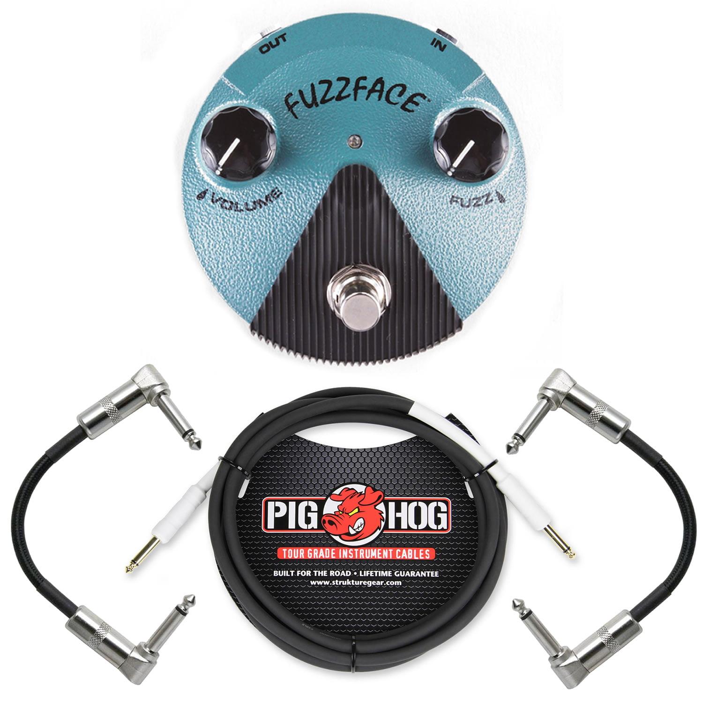 Dunlop FFM3 Jimi Hendrix Fuzz Face Mini Guitar Effects Pe...