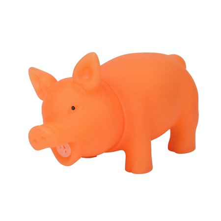 New Amusing 8CM Cute Shrilling Pig Squeaky Rubber Pig Toy Relax Toy Squeeze Realistic Toy - Cute Halloween Pic