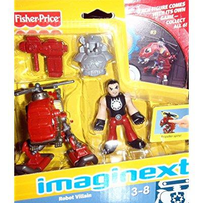 Fisher Price imaginext space - robot villain t0654 includ...