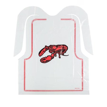 Rofson Associates LOB100 PE 15 x 20 in. Poly Lobster Bib - image 1 of 1
