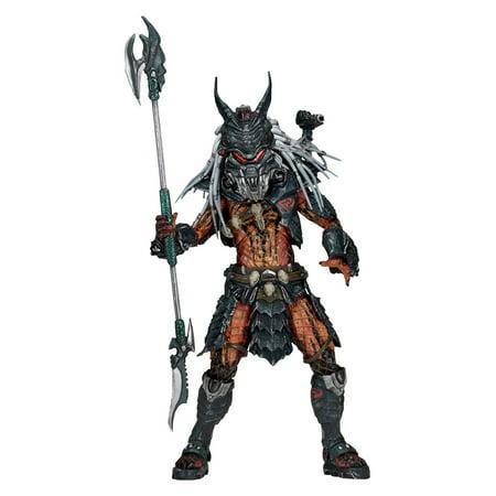 """Predator 7"""" Action Figure: Deluxe Clan Leader (Predator Deluxe Head)"""