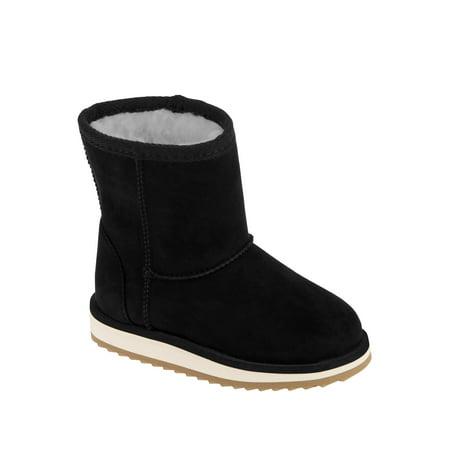 Wonder Nation Faux Shearling Boots (Toddler Girls)