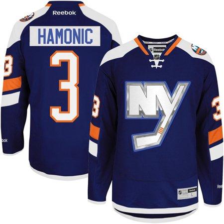 7368da172bd Men s New York Islanders Travis Hamonic Reebok Royal Blue Alternate Premier  Jersey-M