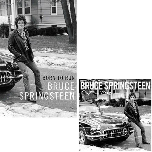 Bruce Springsteen Born to Run Book w/ Chapter And Verse CD