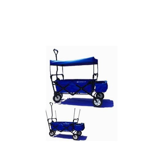 EasyGoWagon Folding Collapsible Wagon With Shade