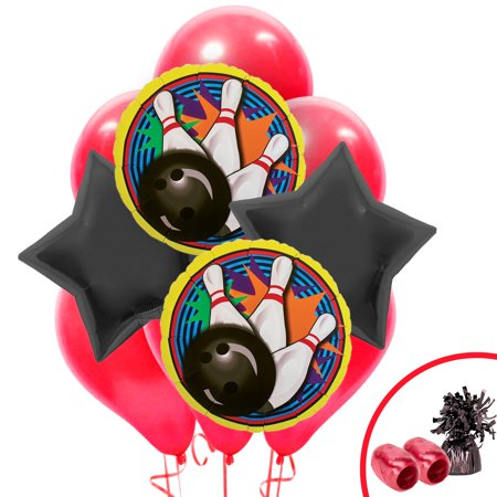 Bowling Balloon Bouquet Kit (Bowling Supplies)