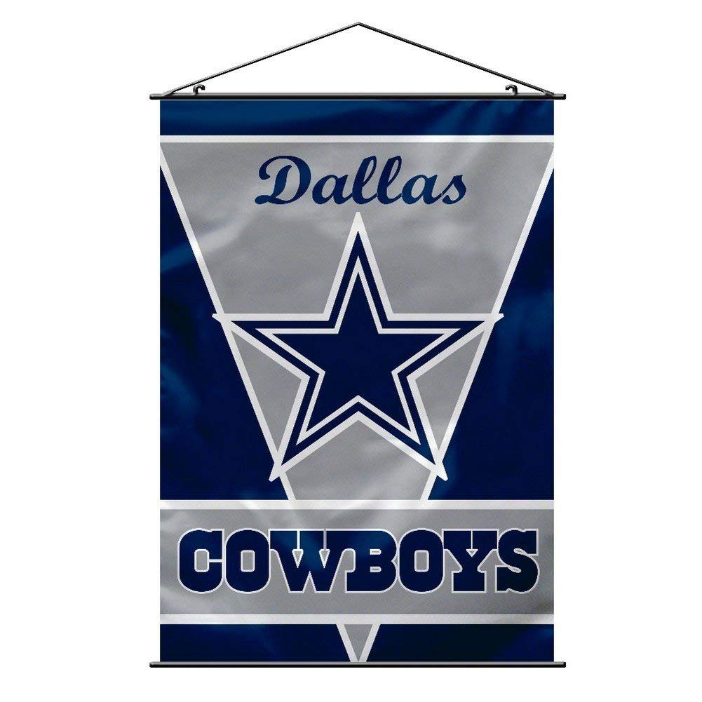 NFL Dallas Cowboys Wall Banner, Polyester 100% By Fremont Die