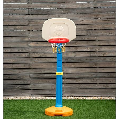 Costway Kids Children Basketball Hoop Stand Adjustable Height Indoor Outdoor Sports Toy - Cool Outdoor Toys For Kids
