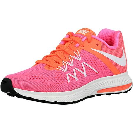 the best attitude e5c82 d462b ... Nike Women s Zoom Winflo 3 Pink Blast White-Bright Mango Ankle-High  Fabric  Nike Zoom Winflo 3 Running Shoe Women In ...