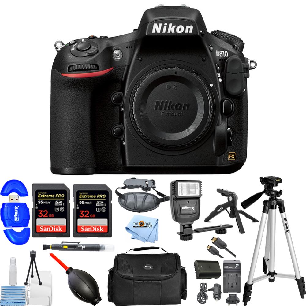 Nikon D810 DSLR Camera (Body Only)!! MEGA KIT BRAND New WITH 1 YEAR WARRANTY!! by Nikon