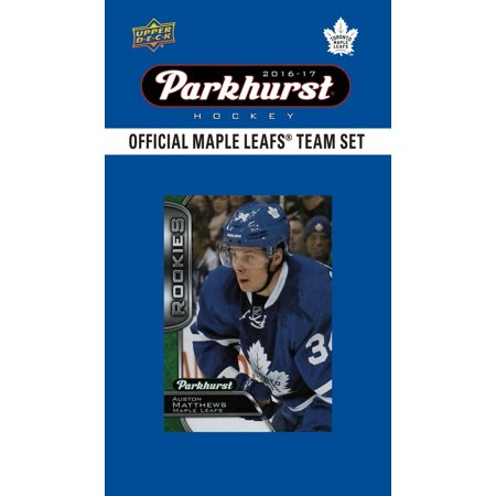 Toronto Maple Leafs 2016 2017 Upper Deck Parkhurst Series