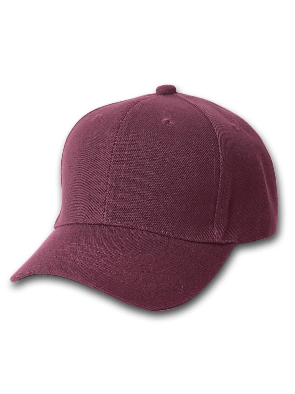 a236e24df83 Plain Fitted Curve Bill Hat