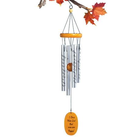 Inspirational Amazing Grace Wind Chime, - Small Wind Chimes