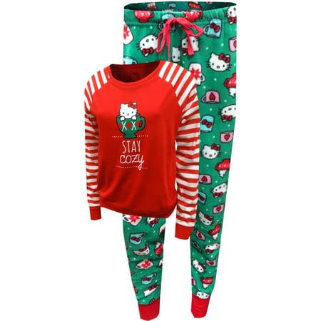 Hello Kitty Stay Cozy Holiday Pajama Set