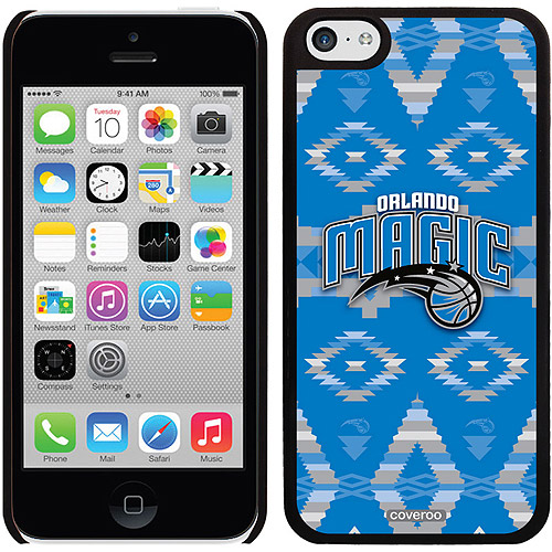 Orlando Magic Tribal Print Design on Apple iPhone 5c Thinshield Snap-On Case by Coveroo