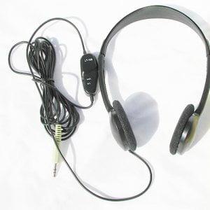 Labtec LT_100 Headphones w_ Volume Control by Labtec