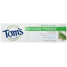 Toothpaste: Tom's of Maine Wicked Fresh!