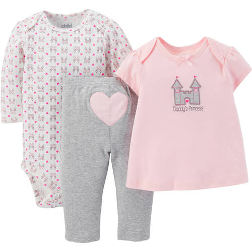 Child Mine 3pc Set Girl Princess Walmart