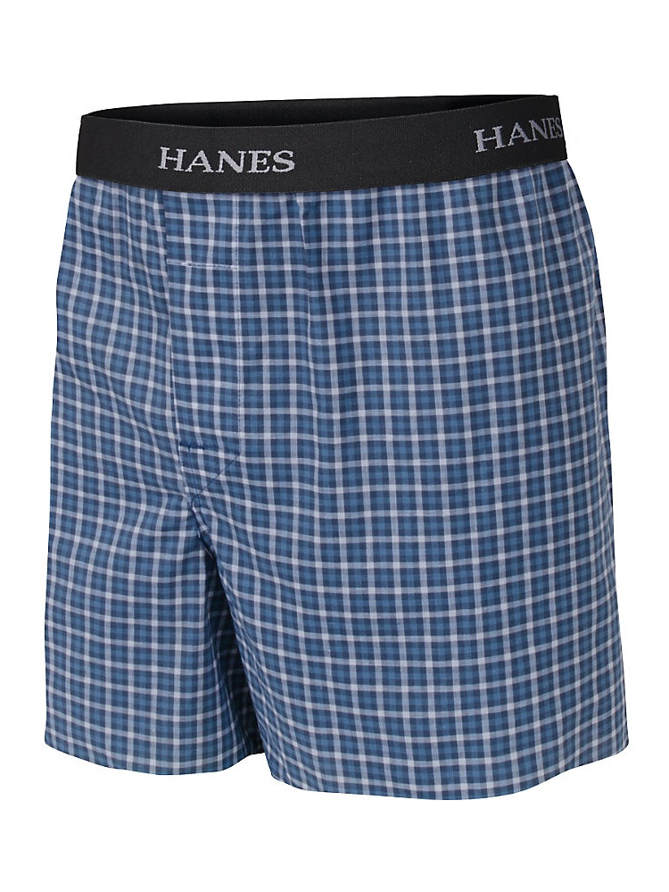 Boys' Hanes Ultimate Yarn Dye Boxer with Comfort Flex Waistband 3-Pack