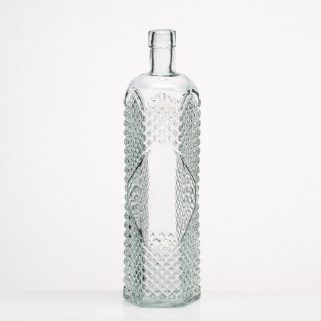 - Richland Textured Glass Bottle Set of 6