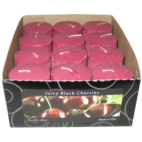 Fortune Products Candle-Lite Black Cherry Votive Candle (Set of 12)