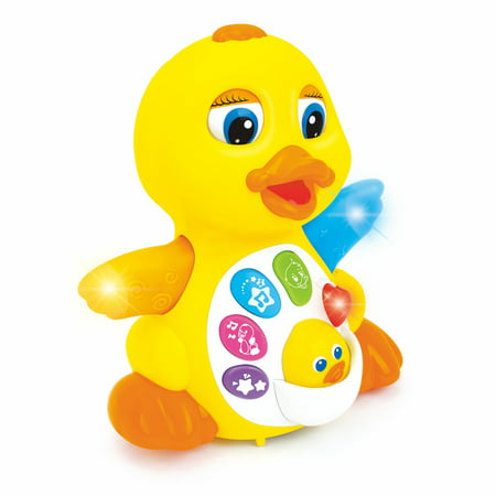 Light Up Toys (Hola Light Up Dancing and Singing Duck Toy - Musical and Educational)