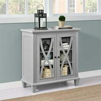 Altra Ellington Double Door Accent Cabinet, Multiple Colors