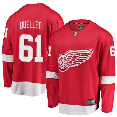 a5b9c97f6ec Youth Detroit Red Wings Xavier Ouellet Generic Branded Red Breakaway Player  Jersey-Yth S M - Walmart.com